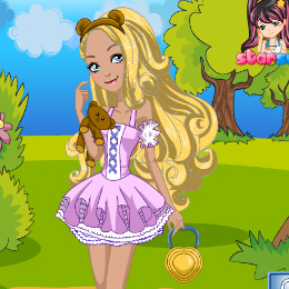 Blondie Lockes öltöztetős Ever After High játék