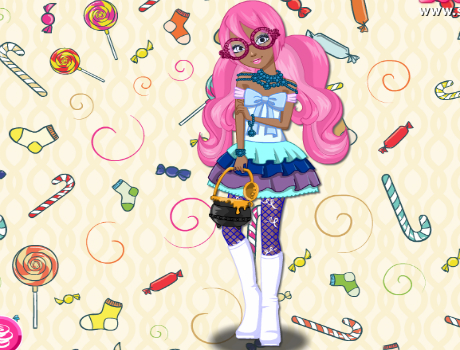 Ginger öltöztetős Ever After high játék