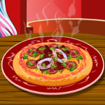Monster high pizza főzős játék
