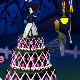 torta-diszites-monster-high-jatek