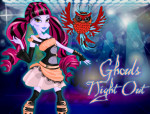 Ghouls Night Out öltöztetős Monster high játék
