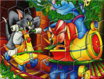 Tom and Jerry 2 puzzle játék