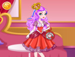 Apple White stílusa öltöztetős Ever After high játék