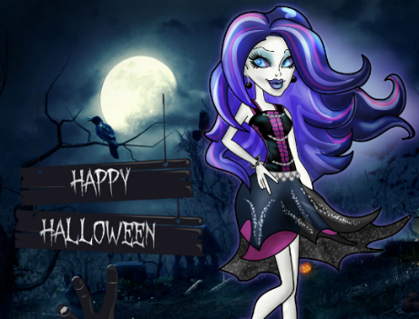 Spectra halloween day Monster high játék